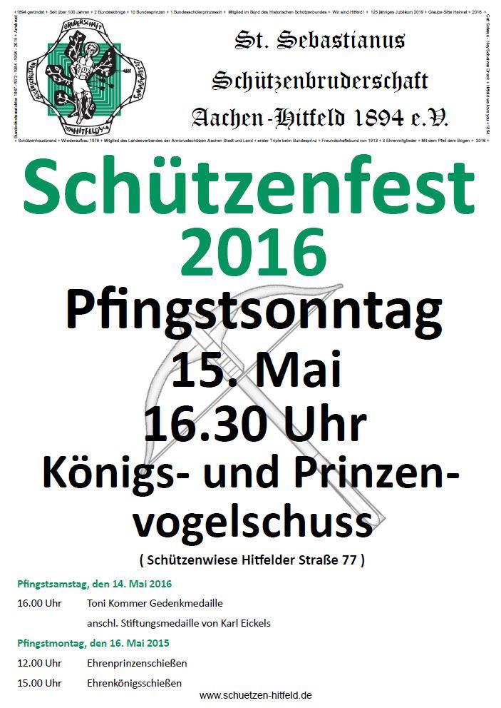 Pfingsten 2016